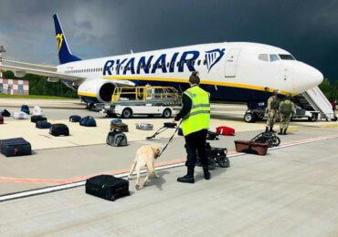 """საავიაციო """"მეკობრეობა""""   Ryanair, ბელარუსი, ევროპა"""