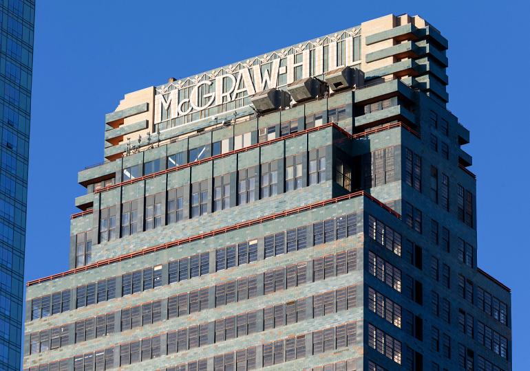 საყოველთაოდ ცნობილი გამომცემლობა McGraw-Hill-ი $4.5 მილიარდად იყიდება