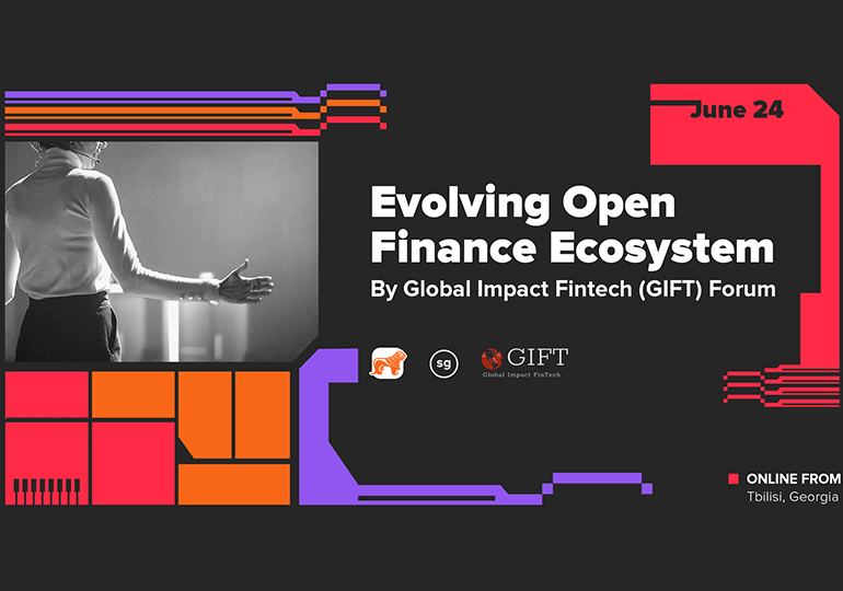 საქართველოს ბანკის მხარდაჭერით Global Impact FinTech (GIFT) სამიტი გაიმართება