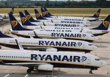 ბიუჯეტური ავიაკომპანია Ryanair 273 მილიონი ევროს ოდენობის ზარალის შესახებ იტყობინება