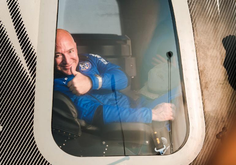ჯეფ ბეზოსი მთვარის მისიის კონტრაქტის სანაცვლოდ NASA-ს 2 მლრდ დოლარს სთავაზობს
