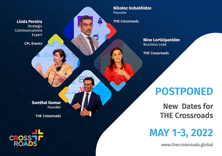 The Launch Event of THE Crossroads Was Postponed