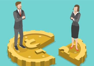 2020 წელს ქალების საშუალო თვიურმა ხელფასმა 952.2 ლარი, კაცებისამ კი 1407.7 ლარი შეადგინა