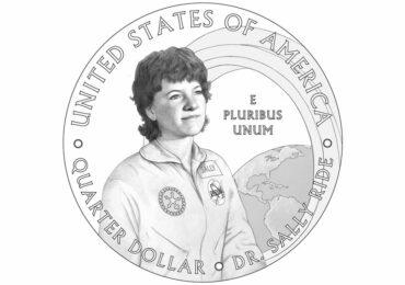 პირველ ამერიკელ ასტრონავტ ქალს 25-ცენტიანზე გამოსახავენ
