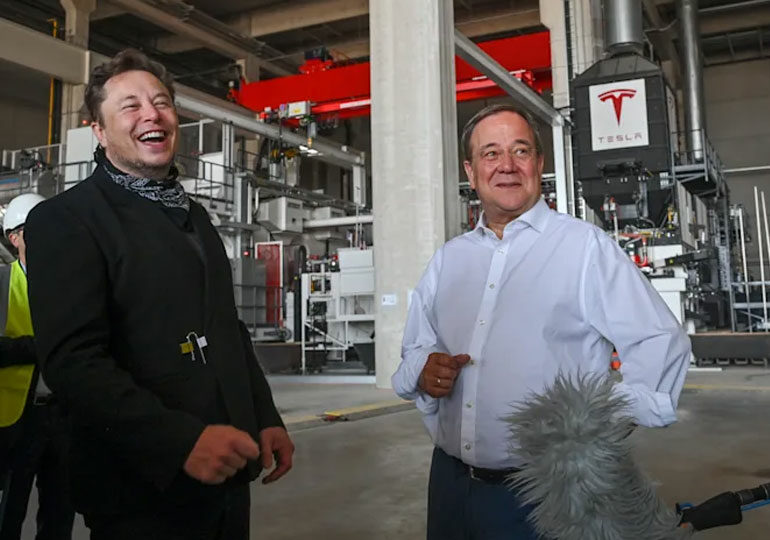 Tesla-ს ბერლინის გიგანტური ქარხანა ელექტრომობილების წარმოებას ნოემბრიდან შეძლებს